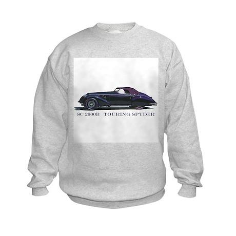The 8C 2900B Touring Spyder Kids Sweatshirt