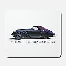 The 8C 2900B Touring Spyder Mousepad