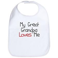My Great Grandpa Loves Me Bib
