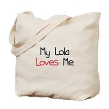 My Lola Loves Me Tote Bag