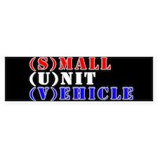 Small Unit Vehicle Bumper Car Sticker
