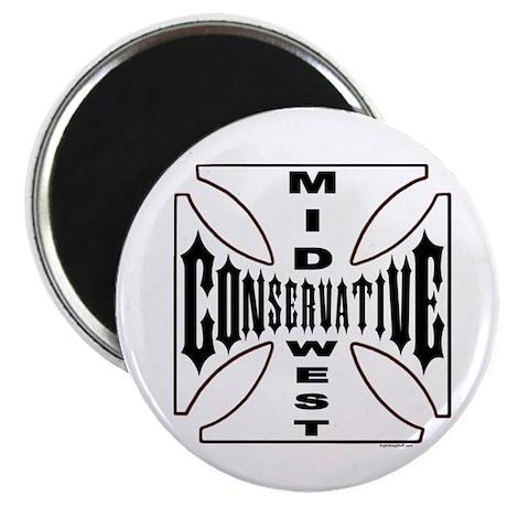 "Mid-West Conservative 2.25"" Magnet (10 pack)"