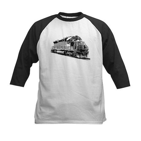 Train on track Kids Baseball Jersey