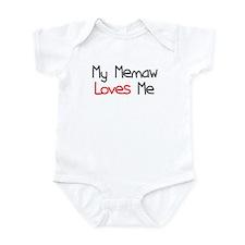 My Memaw Loves Me Infant Bodysuit