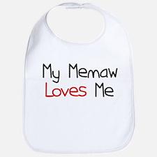 My Memaw Loves Me Bib