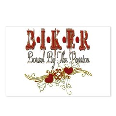 Biker Passion Postcards (Package of 8)