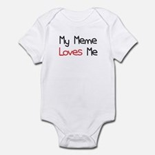 My Meme Loves Me Infant Bodysuit