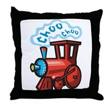 Choo Choo Train Throw Pillow
