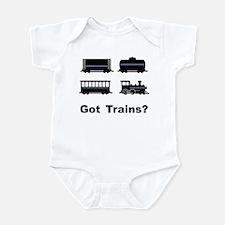 Got Trains? Infant Bodysuit