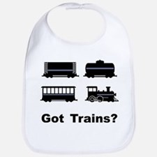 Got Trains? Bib
