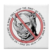 Stop McCain RINO Tile Coaster