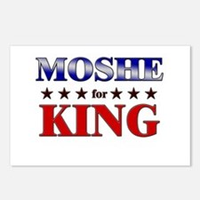 MOSHE for king Postcards (Package of 8)