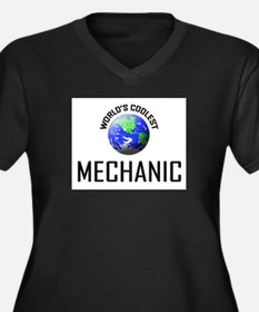 World's Coolest MECHANIC Women's Plus Size V-Neck