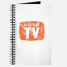 As Seen On TV Distressed Journal