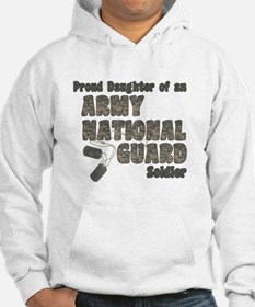 National Guard Daughter (tags) Hoodie