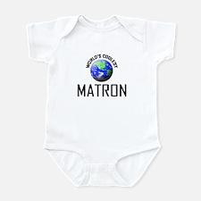 World's Coolest MATRON Infant Bodysuit