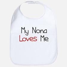 My Nona Loves Me Bib
