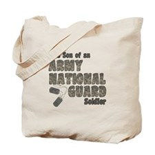 National Guard Son (tags) Tote Bag