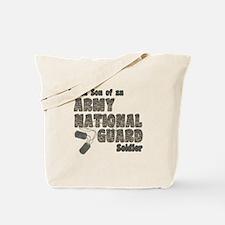 National Guard Son (tags) Tote Bag