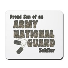 National Guard Son (tags) Mousepad