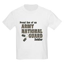 National Guard Son (tags) T-Shirt