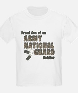 National Guard Son (tags) T-Shirt