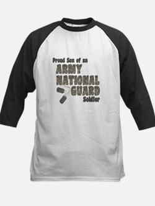 National Guard Son (tags) Kids Baseball Jersey