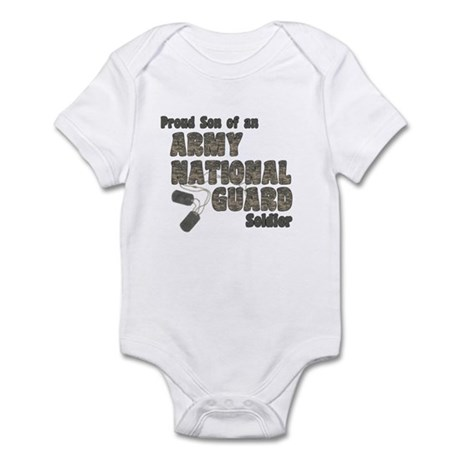 National Guard Son (tags) Infant Bodysuit