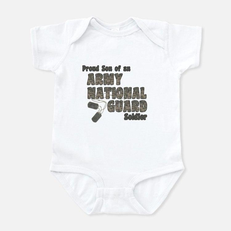 National Guard Son (tags) Infant Bodysuit