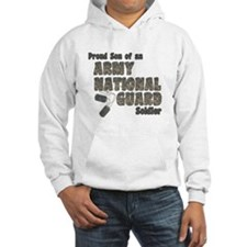 National Guard Son (tags) Hoodie