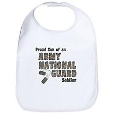 National Guard Son (tags) Bib
