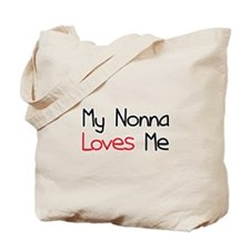 My Nonna Loves Me Tote Bag