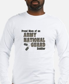 National Guard Mom (tags) Long Sleeve T-Shirt
