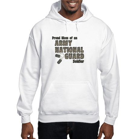 National Guard Mom (tags) Hooded Sweatshirt