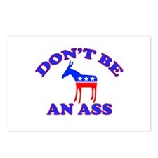 Don't Be An Ass Postcards (Package of 8)