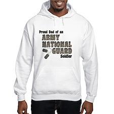 National Guard Dad (tags) Hoodie