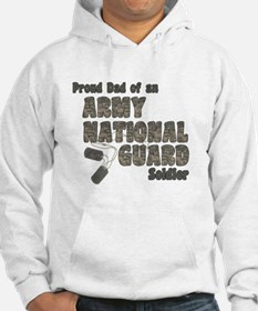 National Guard Dad (tags) Hoodie