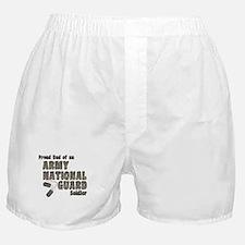 National Guard Dad (tags) Boxer Shorts