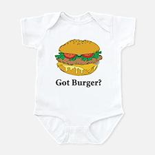 Got Burger Infant Bodysuit
