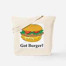 Got Burger Tote Bag