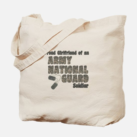 National Guard Girlfriend (tags) Tote Bag