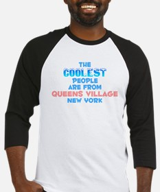 Coolest: Queens Village, NY Baseball Jersey