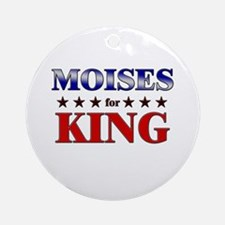MOISES for king Ornament (Round)