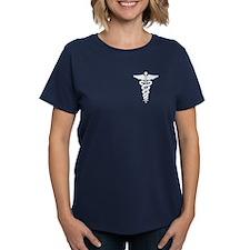 Medical Symbol Caduceus Tee