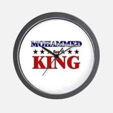 MOHAMMED for king Wall Clock