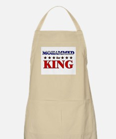 MOHAMMED for king BBQ Apron