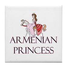 Armenian Princess Tile Coaster