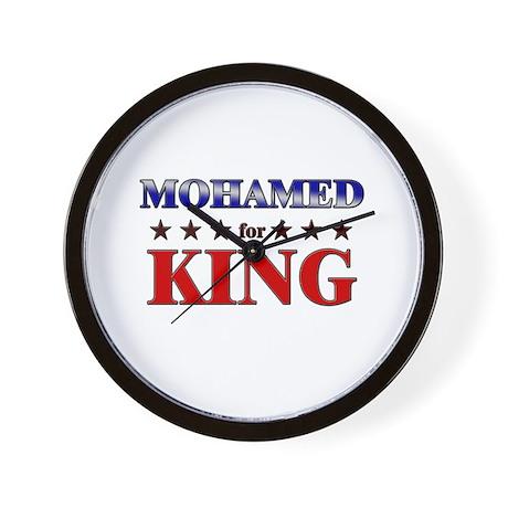 MOHAMED for king Wall Clock