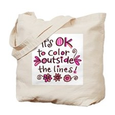 Color Outside the Lines Tote Bag