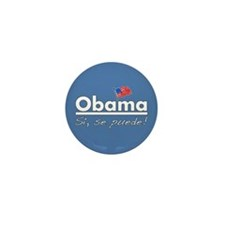Obama: Si, Se Puede! Mini Button (10 pack)